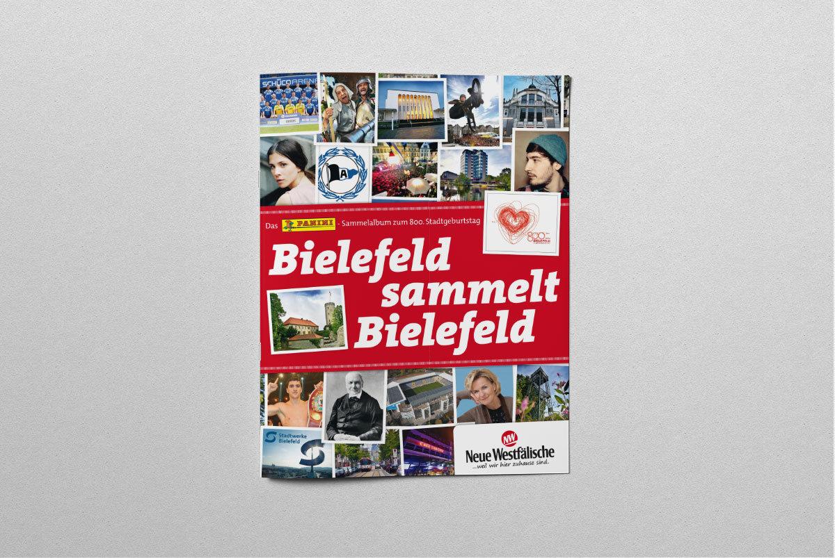 Bielefeld Panini Sammelalbum