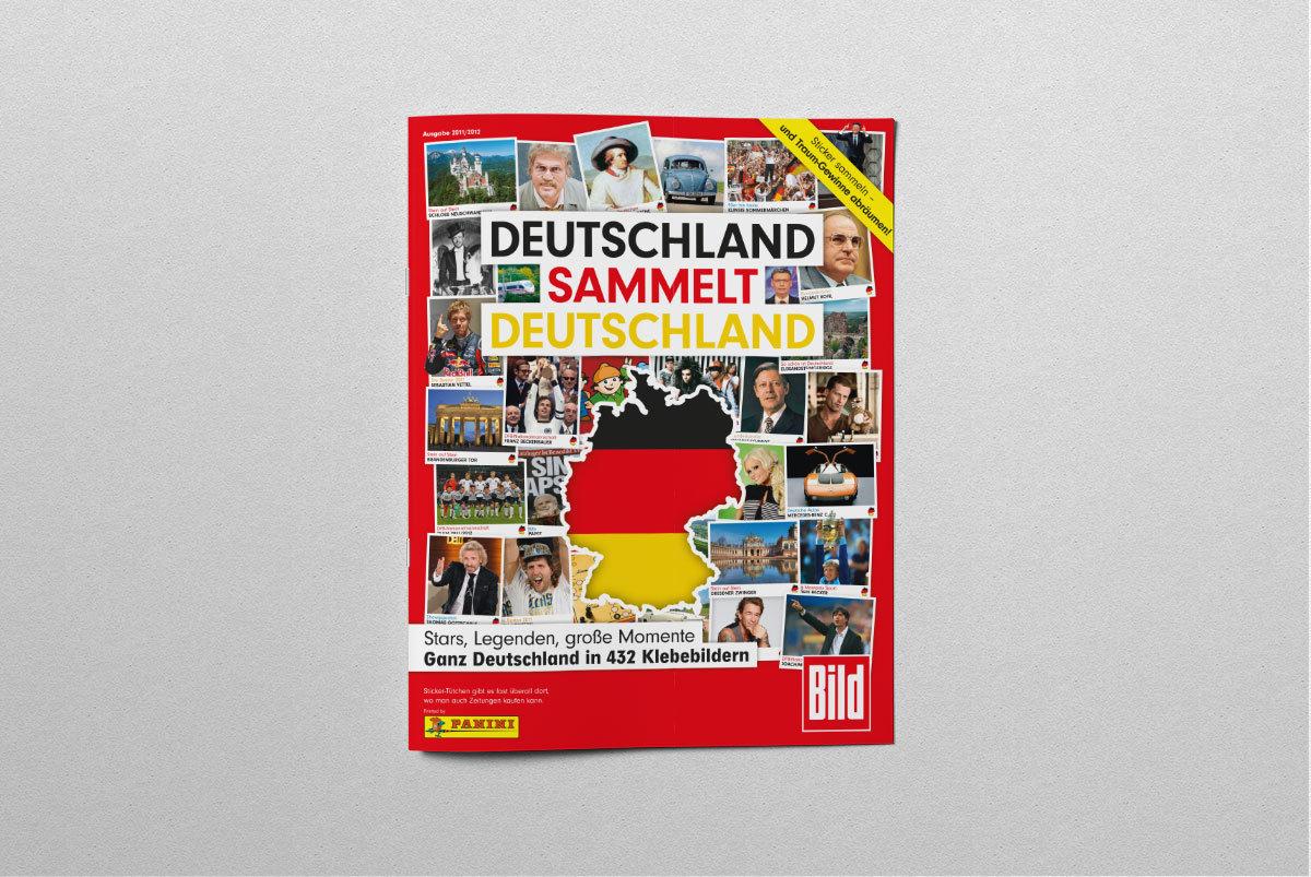 Deutschland Panini Sammelalbum