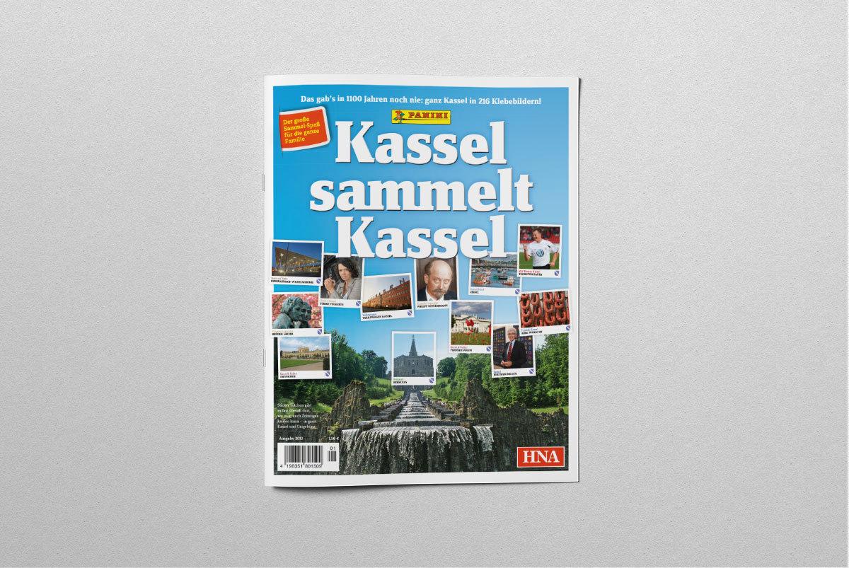 Kassel Sammelalbum Panini