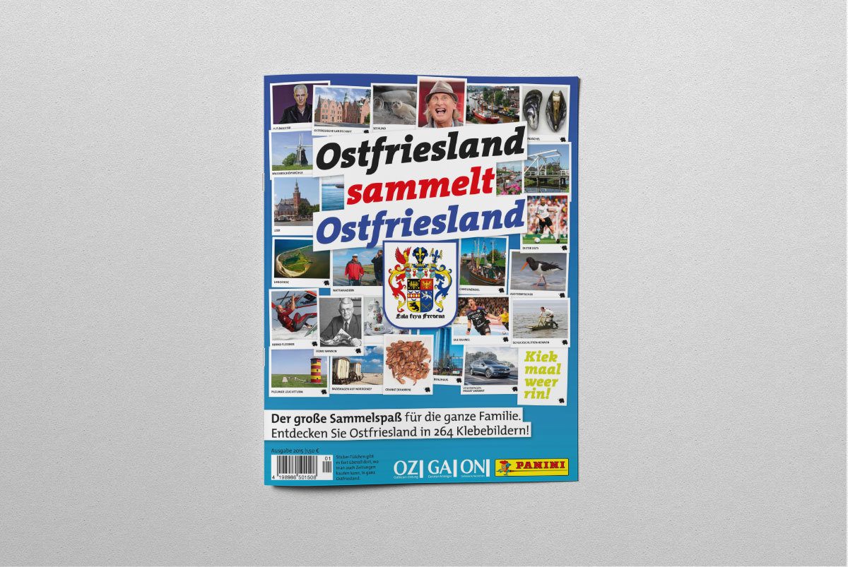 Ostfriesland Sammelalbum Panini