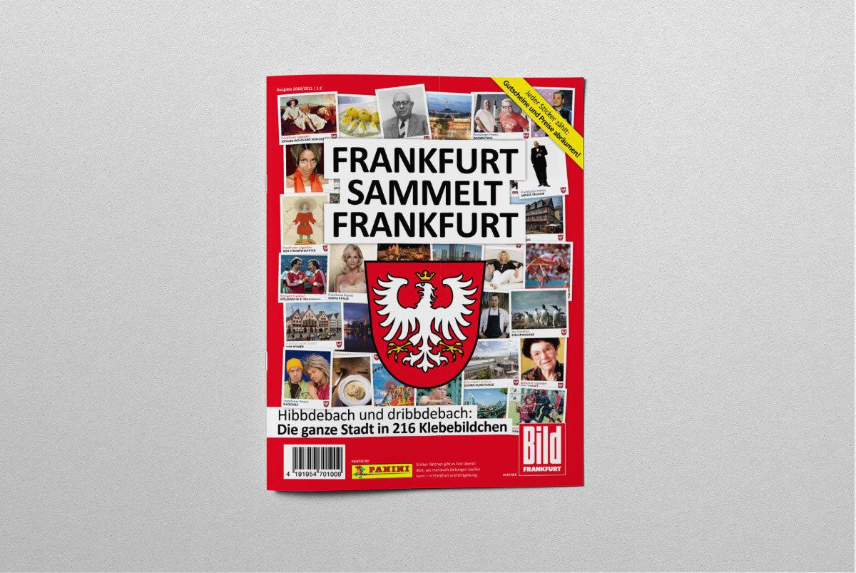 Panini Frankfurt Sammelalbum