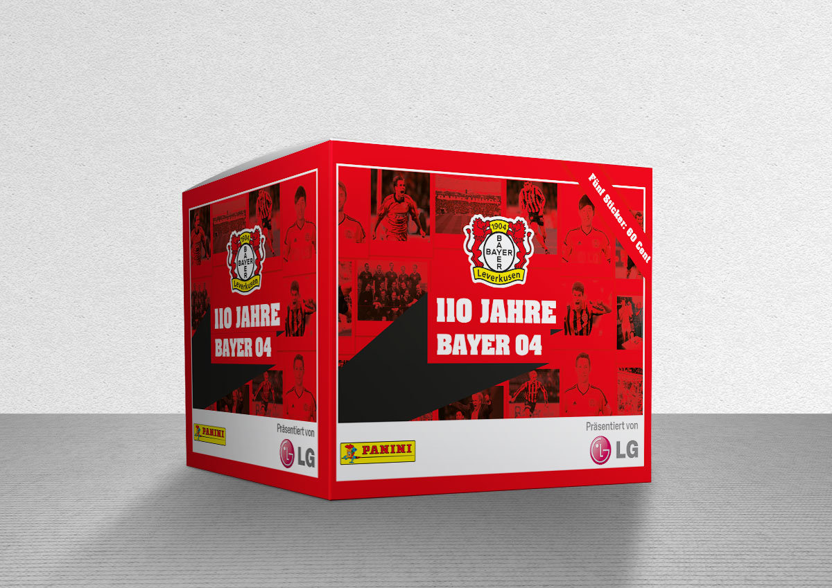 Bayer Leverkusen Panini Sticker