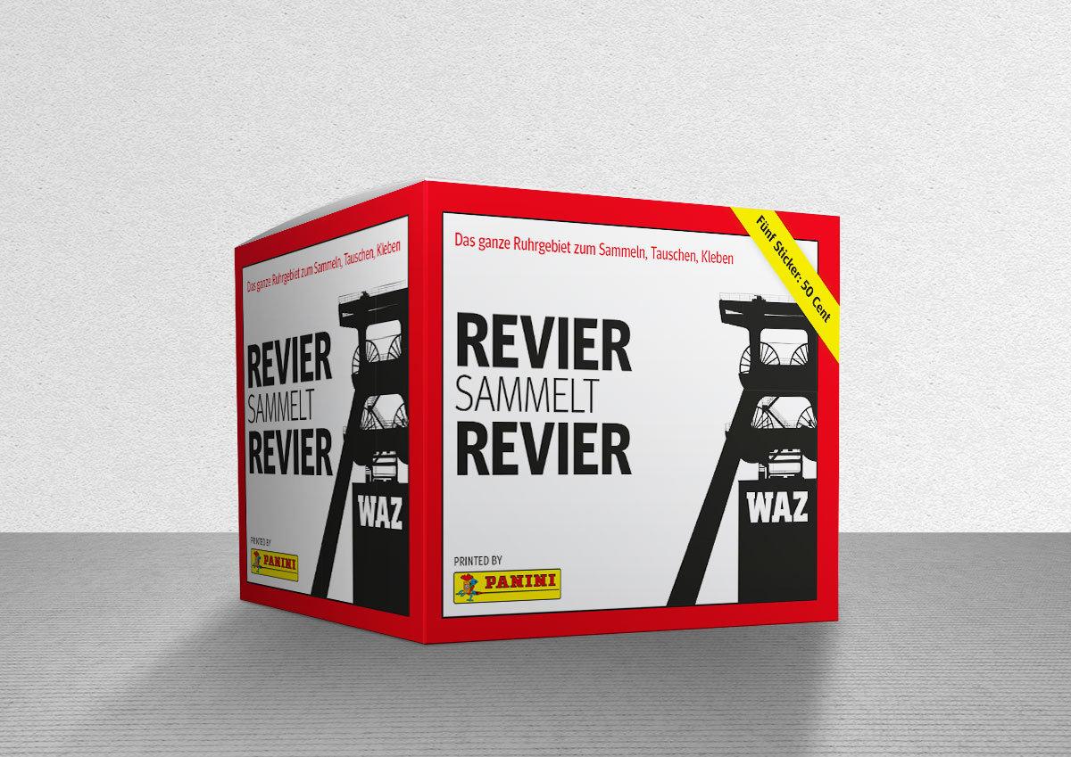 Revier Sticker Panini