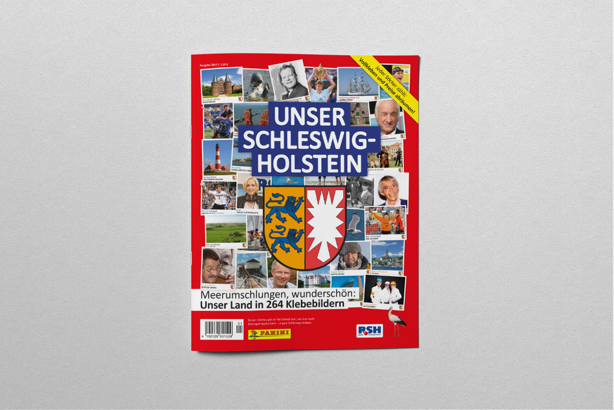 Schleswig Holstein Panini Album