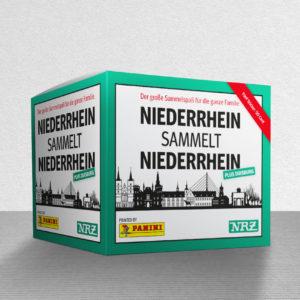 Niederrhein sammelt Panini Sticker