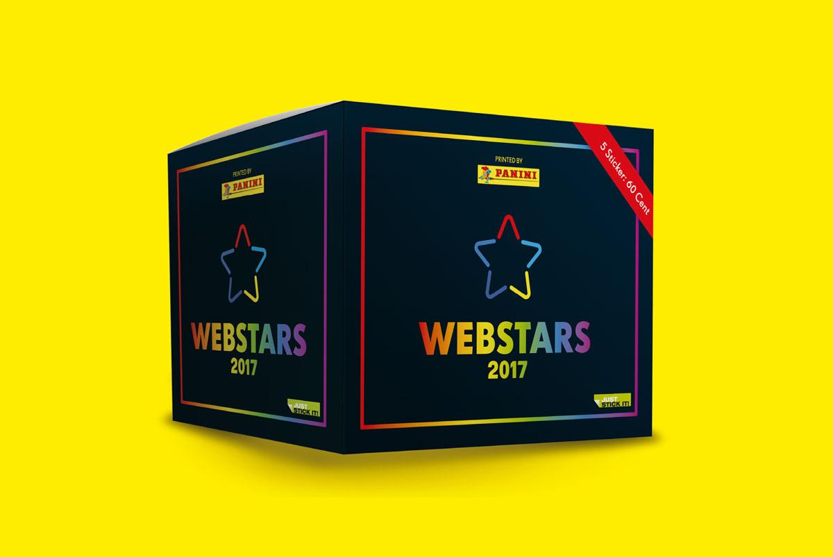 Panini Webstars 2017 Sticker